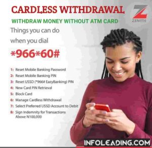 Cardless Withdrawal In Nigeria