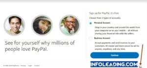 How to open a Dubai/Lesotho PayPal account