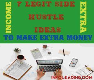 7 legit side hustle ideas to make extra money